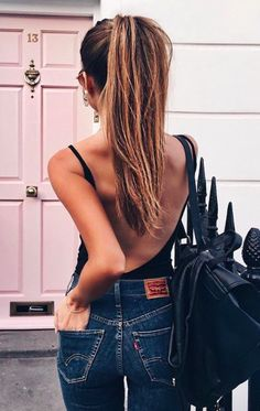 40 Of The Best Summer Outfits To Copy Right Now 30 Chic Summer Outfit Ideas – Street Style Look. The Best of summer outfits in Street Style Outfits, Mode Outfits, Casual Outfits, Ariana Grande Outfits Casual, Casual Ootd, Fashion Outfits, Fashion Tips, Fashion Trends, Looks Style