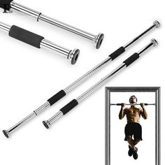 High Quality Sport Equipment Home Door Exercise Bar Chin Pull Up Workout Training Gym Size Adjustable