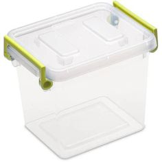 Sterilite 2.5 Quart Modular Latch Box- Bamboo Grass, Case of 6 - Walmart.com