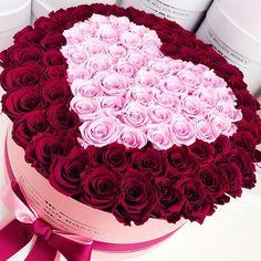🌹🌸💗😍💘 ____________________________________ adorable all_pixs boyfriend couple cute genginsapgan gf girl girlfriend golook happy hot_shotz hugs ig_bestever igaddicts instabeauty instacool instafamous instagain Beautiful Rose Flowers, Beautiful Flower Arrangements, Flowers Nature, Floral Arrangements, Bouquet Cadeau, Gift Bouquet, Rose Bouquet, Flower Box Gift, Flower Boxes