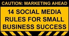 Social Media Rules for Small Business Operators...