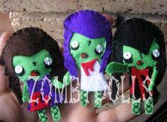 Zombie brooch by zombydolls on Etsy, €6.00