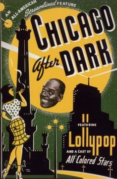 Chicago After Dark by Black History Album, via Flickr
