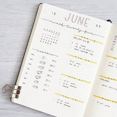 Easy Bullet Journal Ideas To Well Organize & Accelerate Your Ambitious Goals Bullet Journal Inspiration, Journal Ideas, School Plan, Weekly Spread, Little Sisters, It's Your Birthday, Looking Back, 30 Degrees, How To Plan