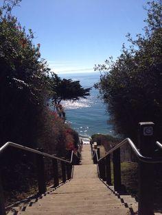 Mesa Lane Steps - Santa Barbara, CA, United States. Hellish steps to paradise