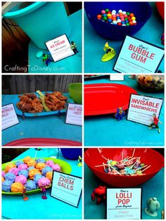 Crafting To Disney: Whatever Wednesday- Big Hero Six Outdoor Movie Night Party Food