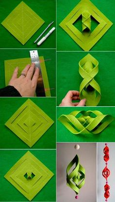 Do you keep in mind your first Origami craft? Paper origami crafts are somethings, which remind me f my childhood days. Especially throughout Christmas, I and my brother used to sit down down in our Easy Christmas Crafts, Christmas Art, Simple Christmas, Christmas Decorations, Christmas Ornaments, Danish Christmas, Origami Christmas, Minimal Christmas, Paper Decorations