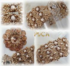 Bracelet Lili vêtu d'Or et bague AmitiéS de Vinjuléve et Puca