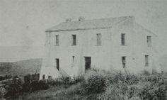 Canalgrande.La direzione della miniera, in una foto degli anni '20.- Miniere di Salto di Gessa -Buggerru