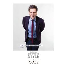 New Signature style campaign for Coes — WHAT associates Ltd Signature Style, Looks Great, Campaign, Product Launch, Photoshoot, News, Celebrities, My Style, Model