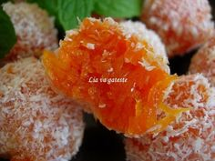 carrot jelly balls