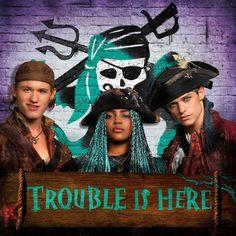 Trouble Is Here   Gil, Uma & Harry   Descendants 2   IG: @disneydescendants
