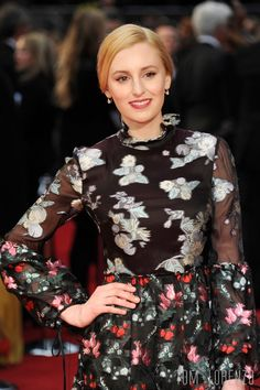 """""""Downton Abbey"""" actress Laura Carmichael attends the 2016 Olivier Awards at The Royal Opera House in London, England. Actors Then And Now, Downton Abbey Cast, Laura Carmichael, Toms, Erdem, Beautiful Curves, Beautiful People, Beautiful Women, I Love Fashion"""