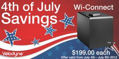 Velodyne WiConnect #deals #savings #specials