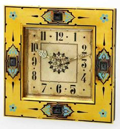 Vintage Cartier 1930 Art Deco Clock