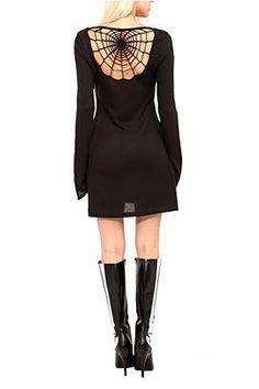 ~Spiderweb Back Dress | Clothing~