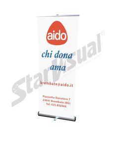 Starvisual Roll-up personalizzato - AIDO Roll-up stampato