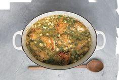Mexican Soup Recipes, Veggie Recipes, Chicken Recipes, Cooking Recipes, Easy Cooking, Dinner Recipes, Tomatillo Chicken, Tomatillo Recipes, Martha Stewart Chicken Soup