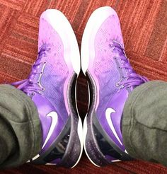 Nike Kobe 8 Purple Gradient