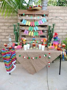 Get your maragaritas ready for fun a Cinco De Mayo Party like this one!! See more party ideas and share yours at CatchMyParty.com