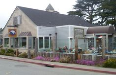 """Half Moon Bay Brewing Company - HMB, CA.  This was where I worked.  It was called """"SHOREBIRD"""" from 1971-1984 I worked there.  Don't know when it changed to this place.  It had cute little new england green shutters when i worked there."""