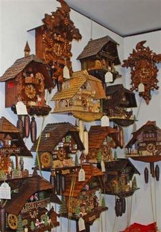 Black Forest Cuckoo Clocks, and other folk art crafts from Southern Germany