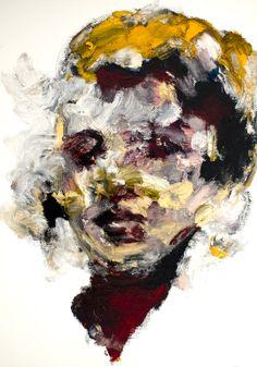 "Saatchi Online Artist: Jaeyeol Han; Oil 2013 Painting ""Passersby, Coma"""