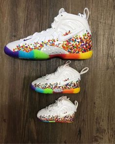 outlet store 49fb4 97e96 ... czech details about nike little cereal fruity pebbles foamposite baby  toddler preschool size 1c 13c 391b0