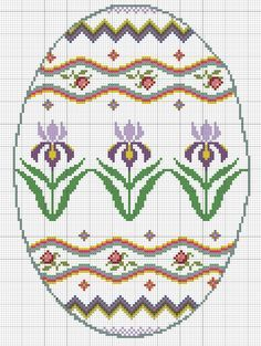 Here's a free cross-stitch pattern for you. It is posted as a PHOTO, so you can print it as large as you need. Just save on your compute...