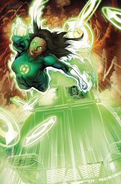 "DC COMICS (W) Sam Humphries (A) Jackson Herbert (CA) Robson Rocha ""FAMILY DINNER""! The rookie Green Lanterns try to reconcile some of their differences, when Simon Baz makes a terrifying offer to Jess"