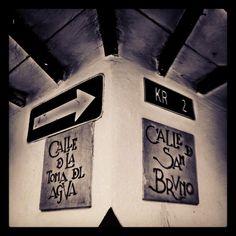 """Street names #instagramyourcity #bogota @Social Media Week Bogotá @igerscolombia @Social Media Week #lacandelaria"" by @Diego Vivas"