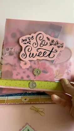 Hi Everyone! I wanted to create another fun album useful for embellishment swaps. This is a great way to add lots of pretty tuck ins. You can change the pockets any way you would like to make it more versatile. This is not limited to just swaps. It's a great way to keep memories, recipes, and more! Photo Album Scrapbooking, Mini Scrapbook Albums, Scrapbook Journal, Scrapbook Supplies, Scrapbook Paper, Mini Albums, Digital Scrapbooking, Fun Album, Diy Mini Album