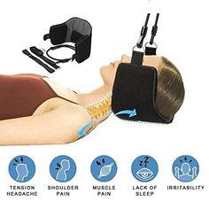 SODIAL Hals Haengematte Hals Haengematte Schmerzlinderung Massagegeraet Spa Relax Massage Traktion Geraet