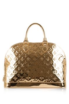 Limited edition vintage #Louis Vuitton. Re-Pin and spread the gold fever!    #reebonz #LV