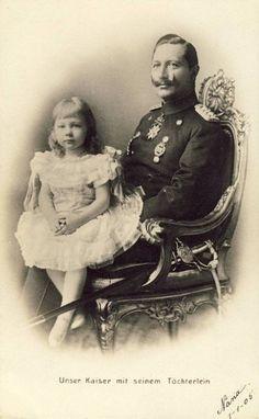 Kaiser Wilhelm II and Princess Viktoria Luise