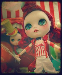 Blythe by Pequena Suricata, via Flickr