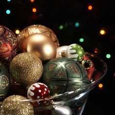 Ornaments may be purchased or homemade.