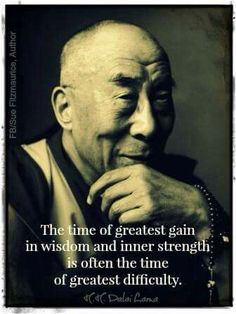 The greatest gain amongst the most difficulty.