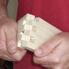Make Perfect Box Joints with a Table Saw Jig. ANYA this seemed like something James needs to see!!
