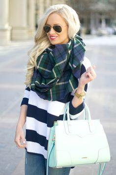 Mckenna Bleu/ Stripes and plaid