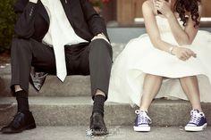 a bunch of cute wedding photo ideas