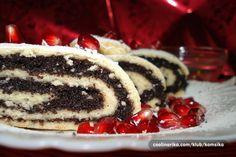 Strudla with poppy. Best cake on the World