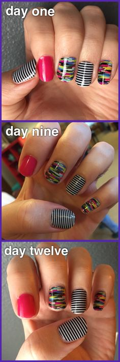 JAMBERRY | Confused Canvas, Black & White Skinny, & Haute Pink