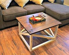 Are you fed up of searching stores and online and not being able to find what you are looking for? How about creating this coffee table for around $50!!  After…