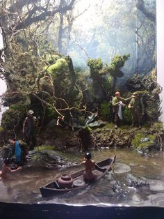 Hot Nam by Gustavo Andrade Diorama Militar, Small Soldiers, Water Effect, Military Modelling, Tiny World, Military Diorama, Model Train Layouts, Fantasy Miniatures, Model Ships