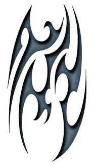 Tribal Fear Tattoo #temporarytattoos #temporarytattoo #t4aw #tattooforaweek #tribal #tribaltattoo #fear #feartattoo