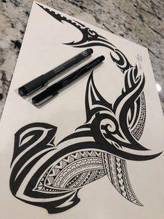 Excited to share this item from my shop: hammer head shark-Mata I Taliga Maori Tattoos, Tribal Animal Tattoos, Hawaiianisches Tattoo, Tribal Animals, Marquesan Tattoos, Samoan Tattoo, Celtic Tattoos, Arm Band Tattoo, Body Art Tattoos