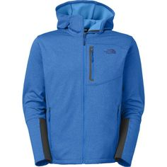 The North Face Canyonlands Hooded Fleece Jacket - Men's Chilly Weather, Fall Weather, Hooded Jacket, Men's Jacket, Men Online, Full Zip Hoodie, Jackets Online, Stay Warm, Fleece Fabric