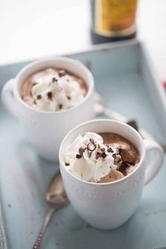 Mocha Mudslide Hot Chocolate