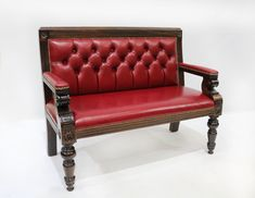 Our Snooker 2 seater bench is perfect for a pub, restaurant or hotel. We can upholster it in a choice of fabric or leather - it's your choice!